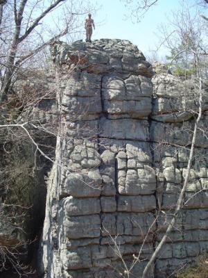 Rock climbers love the vertical walls at RockTown